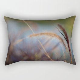 Colors in the Field Rectangular Pillow