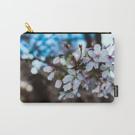 """Macro Blossom"" - DC Cherry Blossom Festival Carry-All Pouch"