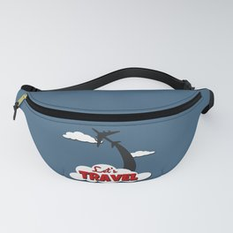 Let's travel Fanny Pack
