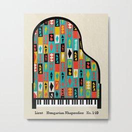 Liszt - Hungarian Rhapsodies Metal Print