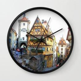 Rothenburg20150903 Wall Clock