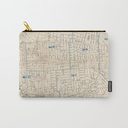 Vintage Map of Somerville MA (1910) Carry-All Pouch