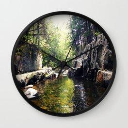 Walking Through the Cascades Wall Clock
