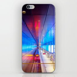 City metro station Hamburg iPhone Skin