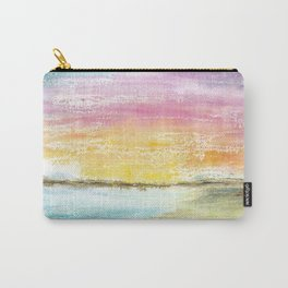 Magic Sunset Watercolor Art Carry-All Pouch
