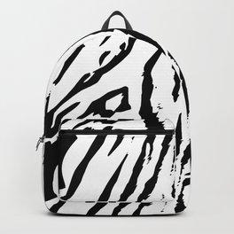 Black & White Animal Stripes Backpack