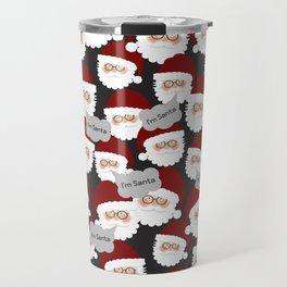 Who's the Real Santa? Travel Mug