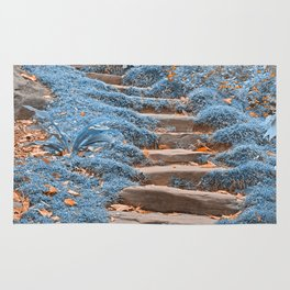 Sapphire Stepping Stones Rug