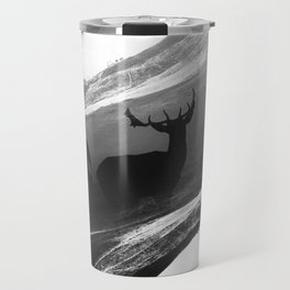 Oh Deer Black Travel Mug