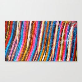 Sisal colors Canvas Print