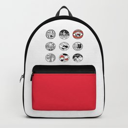 blurry icons Backpack