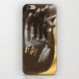Buddha Hand Illustration iPhone Skin