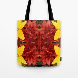 """""""A Gathering of Lilies"""" Remix - 3 (2-1) [D4468~49] Tote Bag"""