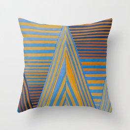 Vibrating Edges Throw Pillow