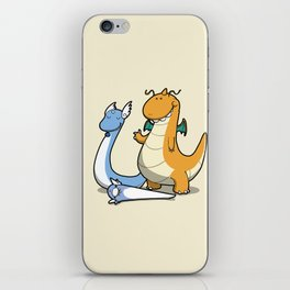 Pokémon - Number 147, 148 and 149 iPhone Skin