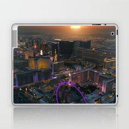 Sunset in Vegas Laptop & iPad Skin