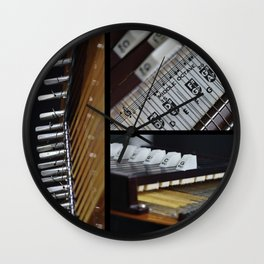 RBI Chromaharp 1965 Wall Clock