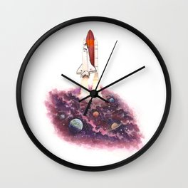 Space Explorer II Wall Clock