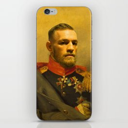 Conor McGregor Classical Painting iPhone Skin