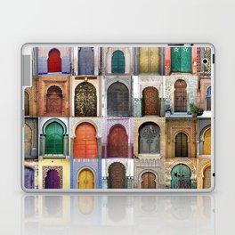 Moorish Doors Montage Laptop & iPad Skin