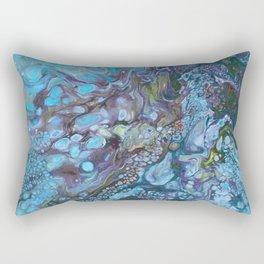 Organic Blues Rectangular Pillow