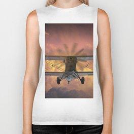 Loud Planes Fly Low Biker Tank
