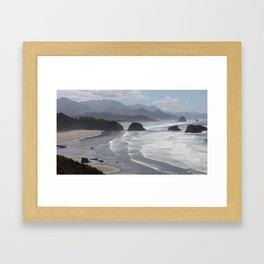 Sea Stacks Framed Art Print