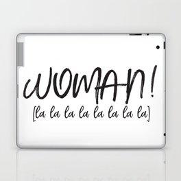 HS - Woman Laptop & iPad Skin