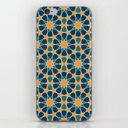 islamic geometric pattern iPhone Skin