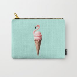 FLAMINGO CONE Carry-All Pouch