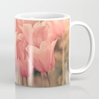 tulips Mugs featuring Tulips by Maria Heyens