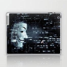 hacker background Laptop & iPad Skin