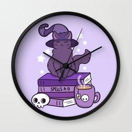 Feline Familiar 02 Wall Clock