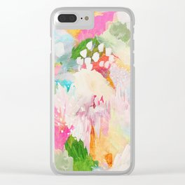 fantasia: abstract painting Clear iPhone Case