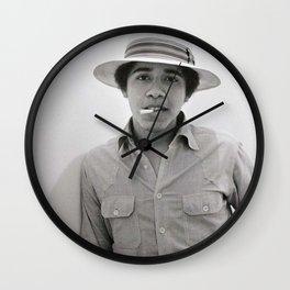 obama hype Wall Clock