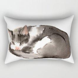 Cat, Sleeping Beauty Rectangular Pillow
