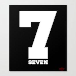 Seven over 7 Canvas Print