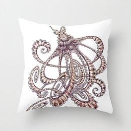 Mimic Octopus Throw Pillow