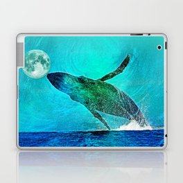 THE MOON'S A FOOTBALL Laptop & iPad Skin