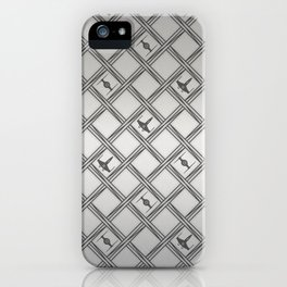 X Wing TIE Fighter Pattern iPhone Case