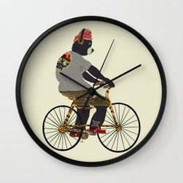 fudge bear Wall Clock