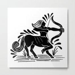 sagittarius zodiac Metal Print