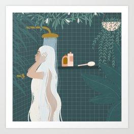 shower goals Art Print