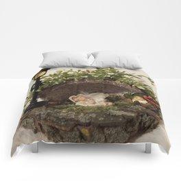 Cute sleeping Angel Comforters