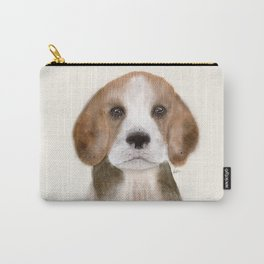 little beagle Carry-All Pouch