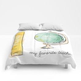 Favorite Teacher Comforters