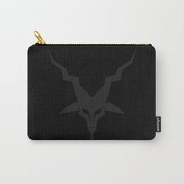 Black Metal Baphomet Carry-All Pouch