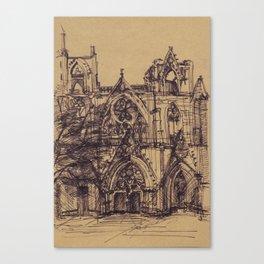 Saint Nicholas Cathedral, Famagusta (Cyprus) Canvas Print