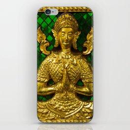 praying budda iPhone Skin