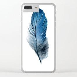 Minimalista Pena Clear iPhone Case